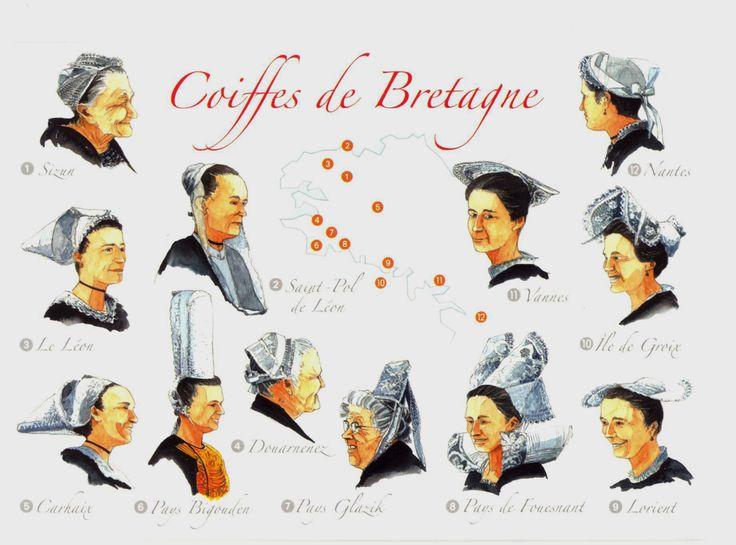 Cap Sizun, Leon, Kapenn, Carhaix, Bigouden, Glazig, Giz Fouen, Lorient, Vannes, Nantes