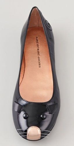 Marc Jacobs | Mouse Flats. Reminds me of the doc martin ones