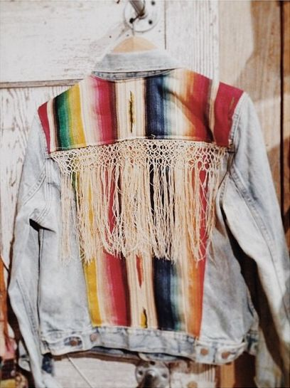 Serape Jacket | Boho Circus #etsy