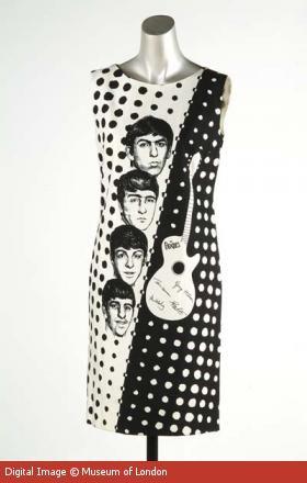 Beatles era cocktail dress