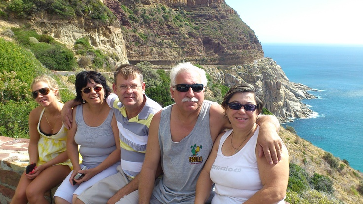 Chapman's Peak with the family