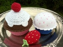 Puslespillbrikker: Amigurumi, cupcakes