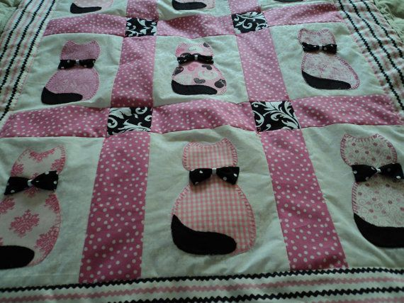 Calico Cat Baby Quilt Cat Quilts Pinterest Calico