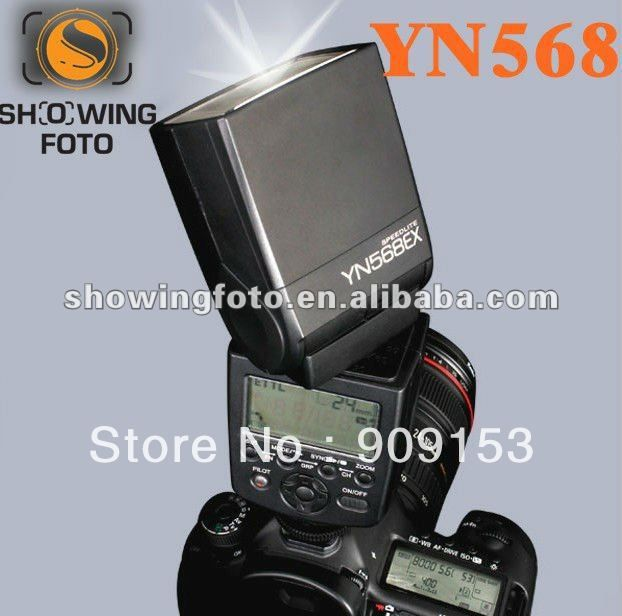 Promotion!!!photographic equipment Yongnuo YN568ex for Nikon