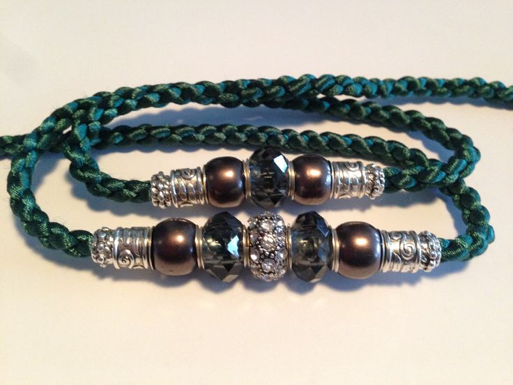 Hand crafted satin dog show leads