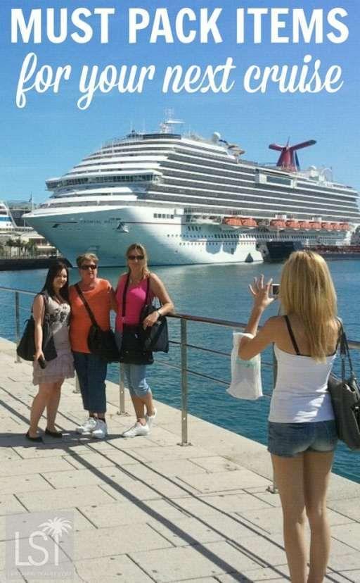 Must pack items for your next cruise | Orig Pic: El Coleccionista de Instantes Fotografía & Video