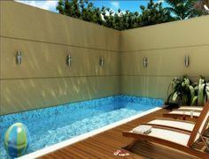 area de lazer com churrasqueira e piscina de fibra - Pesquisa Google
