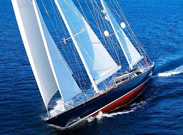 SCHEHERAZADE is a 2000, Hodgdon Yachts built 47m (154ft) ketch rigged luxury sailing yacht. She was designed by Bruce King Yacht Design, Inc. with Andrew Winch Designs of London, England designing the yacht's interior.