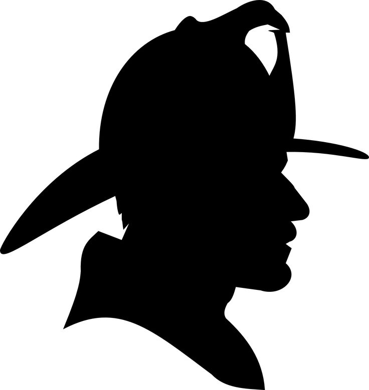 Saturday Clip Art | clipartist.info Firefighter Profile Silhouette SVG