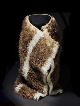 Kahu kiwi (kiwi feather cloak) - Collections Online - Museum of New Zealand Te Papa Tongarewa