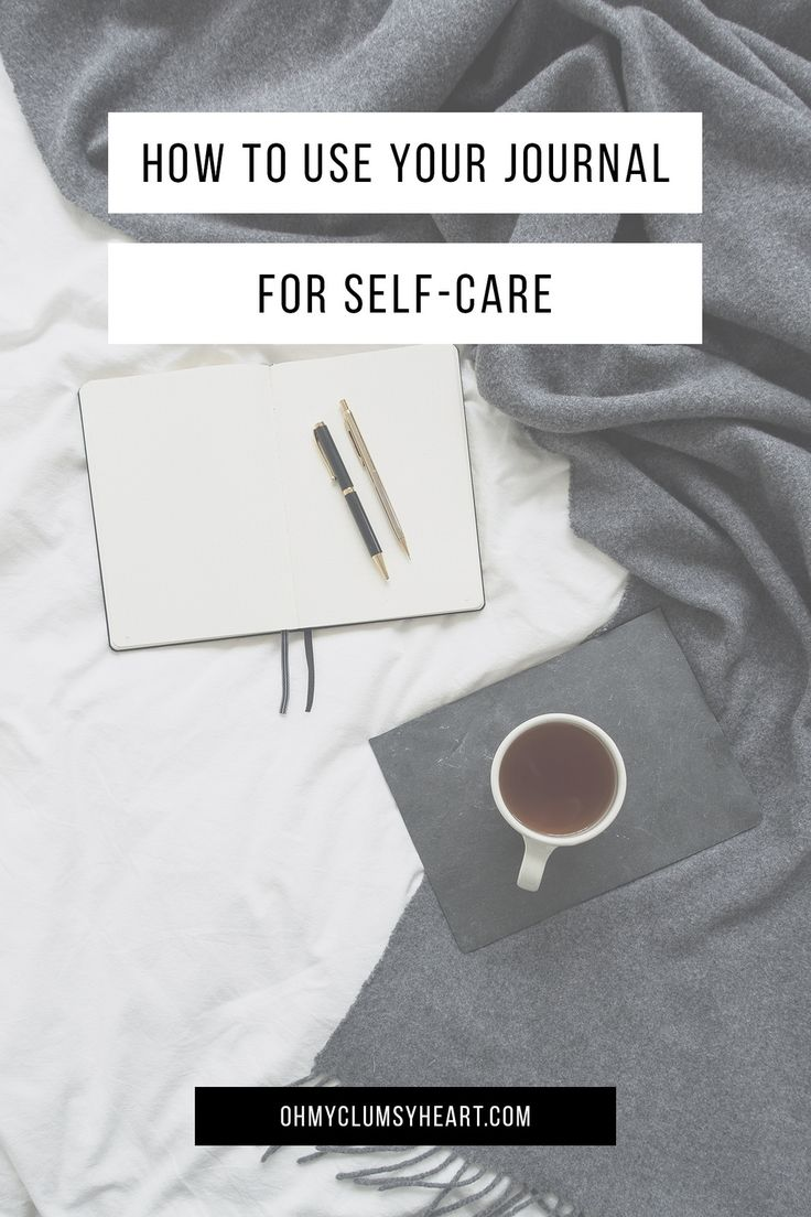 Using Your Journal For Self-Care