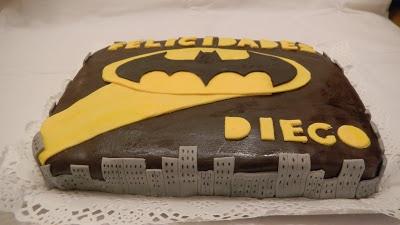 Pastel de Batman.Natali's cooking