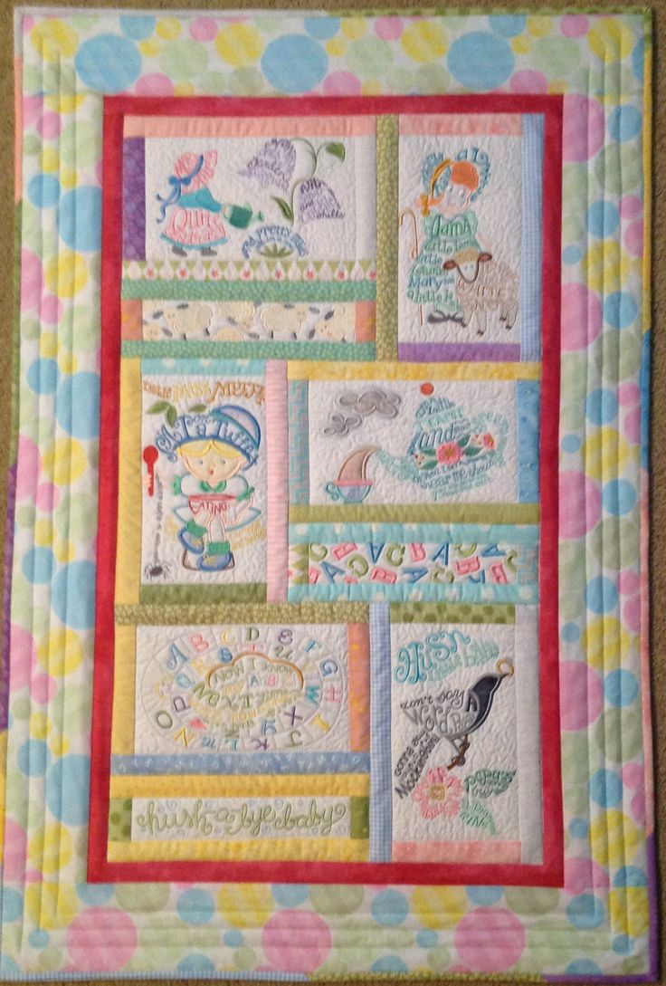 751 best BABY QUILTS images on Pinterest | Baby quilts, Children's ... : baby quilts to embroider - Adamdwight.com