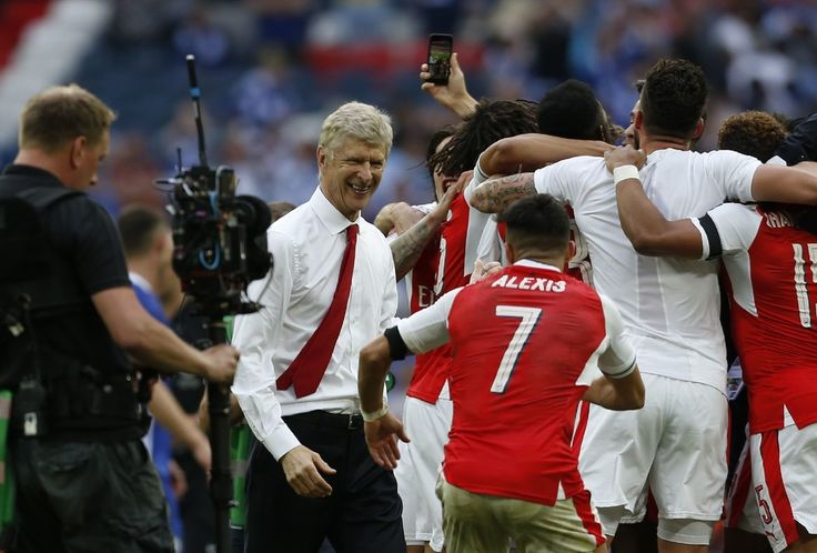 FA Cup 2017 winner. Arsenal 2-1 Chelsea (May 2017)