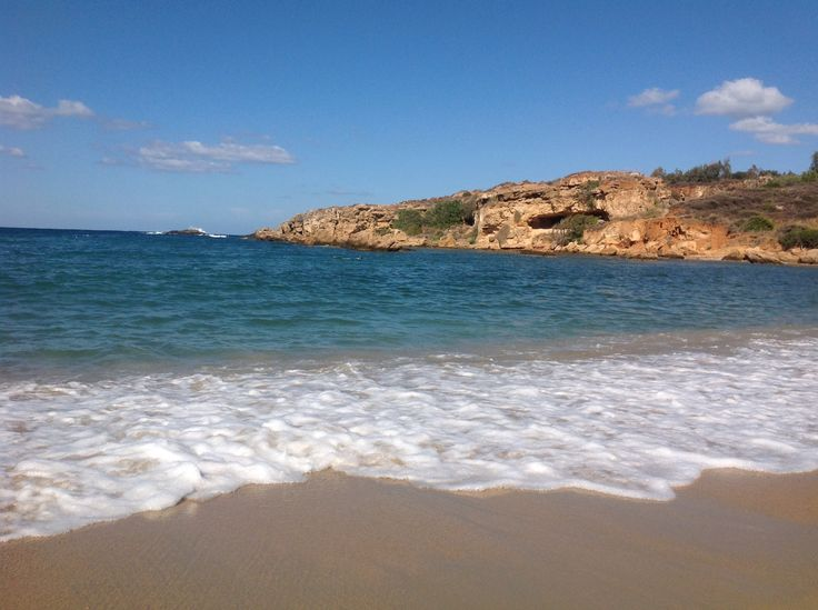 Beautiful natural bay in Aghii Apostoli..,between Chania and Platanias in Crete !!