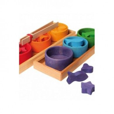 Jeu de Tri en bois Montessori GRIMMS