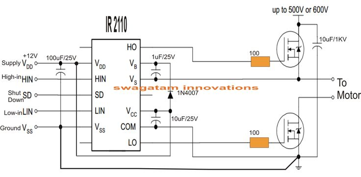 electronic circuit projects  single phase variable frequency drive vfd circuit