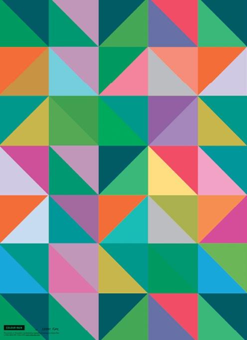 Tips til indretning, Køb grafisk designplakater til væggen, Gode ideer til boligen, Grafiske mønstre, Typografiske plakater. www.colourrain.dk
