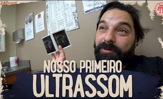 NOSSO PRIMEIRO ULTRASSOM