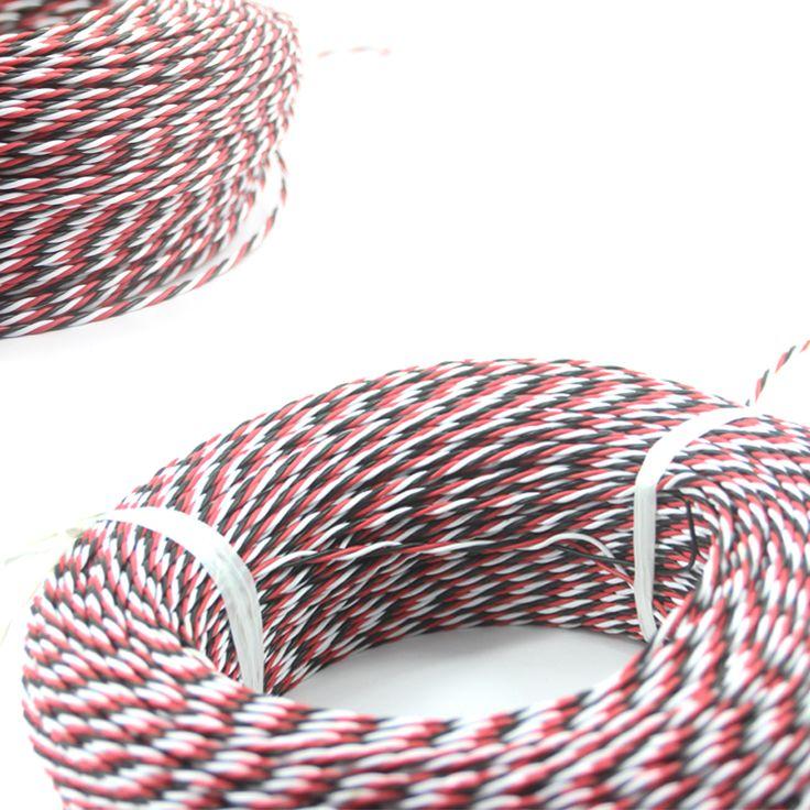 Diy FUTABA Color 22# 22AWG 60 núcleos Cable de extensión Servo / torcida del…
