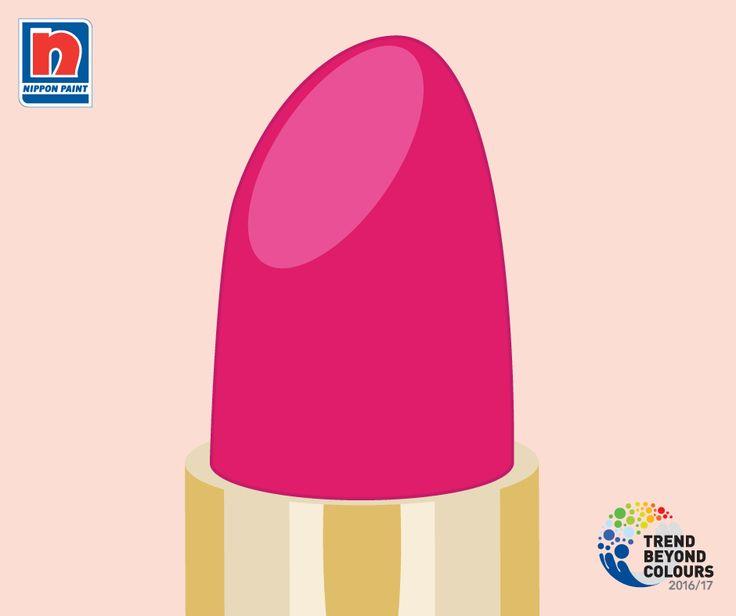 Ketika seorang wanita memoles lipstik yang terang, Anda tahu dia siap untuk menghadapi hari ini. Warna merah muda ini diilhami oleh rasa percaya diri dan gairah dalam kehidupan. Warna ini adalah warna intens yang manis namun seksi, membuat kita ingin berpetualang.