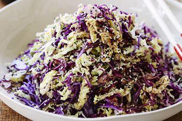 Asian slaw recipe, Bite – Enjoy cabbage raw as it best retains its nutritional properties. – foodhub.co.nz