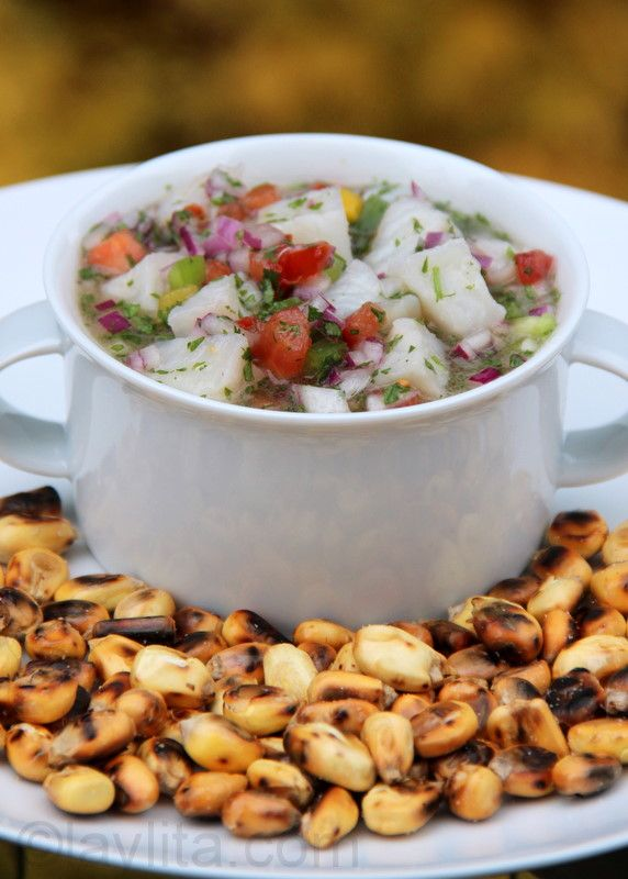 Did someone say ceviche? Pretty sure my mouth is already watering! Try your hand on this fish ceviche or test out the other types on this website. Enjoy!