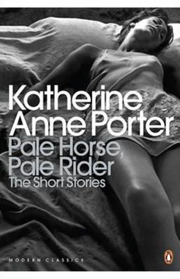 Pale Horse, Pale Rider and other stories by Katherine Anne Porter (1939) A contemporary of Hemingway and F.Scott Fitzgerald, Katherine Anne Porter's ingenious short stories are often overshadowed by the overimposing male writers of her time. Pale Horse, Pale Rider gives a idiosyncratic depiction of a woman's experience during the 1918 influenza epidemic.