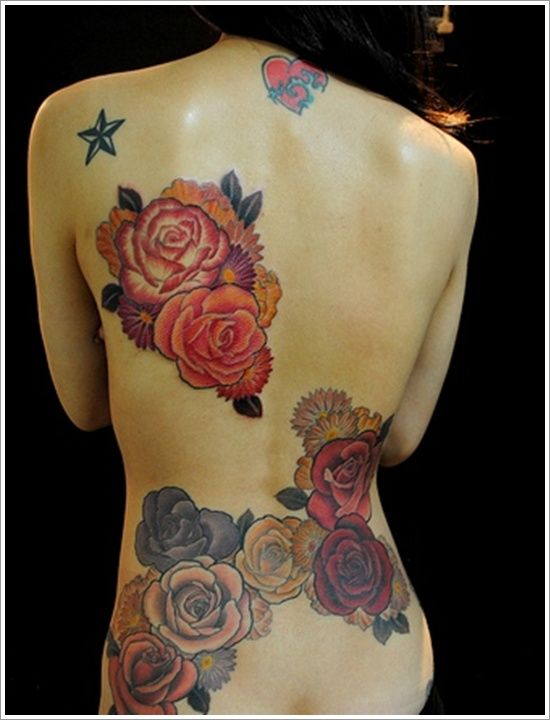 45 Pretty Rose Tattoo Designs both for Men and Women | Get New Tattoos for 2015: Designs and Ideas from Latest Tattoos