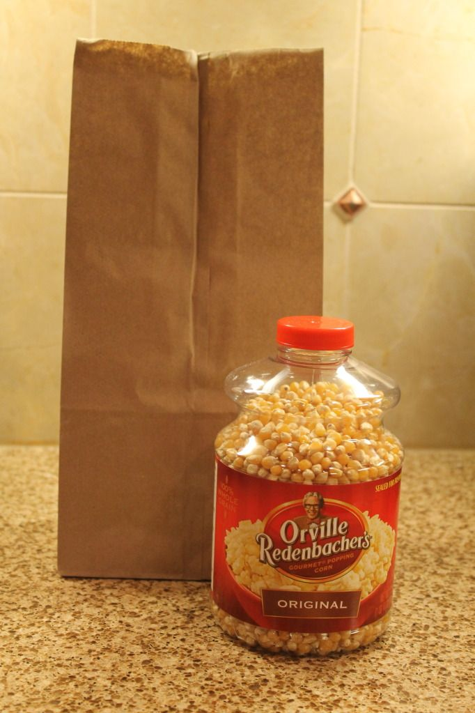 how to make popcorn in microwave with oil