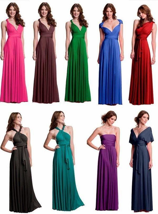 vestidos largos para damas de boda - Buscar con Google