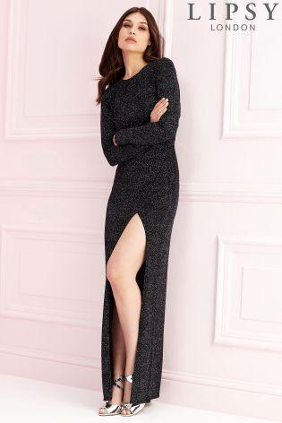 Платье макси Lipsy с воротником-хомутом на спинке - Покупайте прямо сейчас на сайте Next: Украина