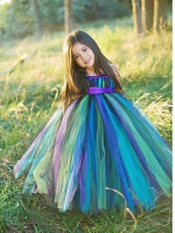 This Peacock Grace Tutu is best for the dancing diva curated with  loads of love and  passion. It is made with yards of multicolored tutu with satin underskirt. This colored tutu is free fall with satin ribbon belt to tie as per the body. Shop now : http://www.foreverkidz.in/Girls-Party-Wear/Peacock-Grace-Tutu-Dress-id-2778611.html