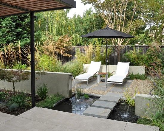 Mid Century Modern Landscape Design Ideas awesome modern landscaping ideas with modern swimming pool cool mid century Mid Century Modern Landscaping Design Pictures Remodel Decor And Ideas Page 12