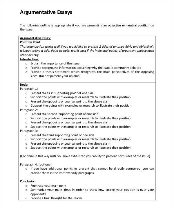 003 argumentative essay introduction Essay outline