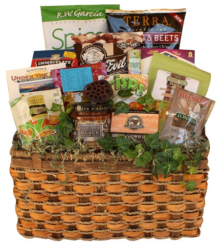 Deluxe Healthy Father's Day Basket