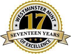 Westminster Mint Lion Reverse design