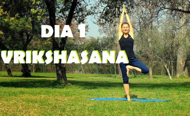 Elena Malova: Día 1 - Vrikshasana Yoga Challenge #malovayogachallenge1