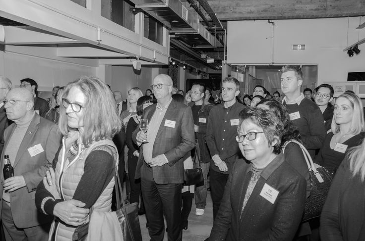 Guest keenly listening to the speakers at the Chin Communications Gala 25th party Space@Collins July 2017