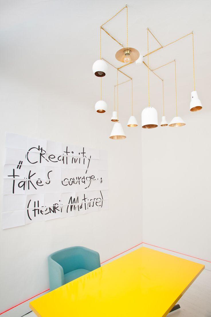 dezeen: Annvil Office, Alberta Street,by Anna Butele Photography by Ingus Bajārs