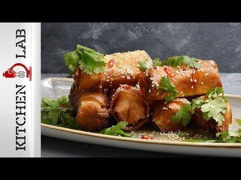 Φέτα τυλιχτή σε φύλλο κρούστας Επ.22 | Kitchen Lab TV - YouTube