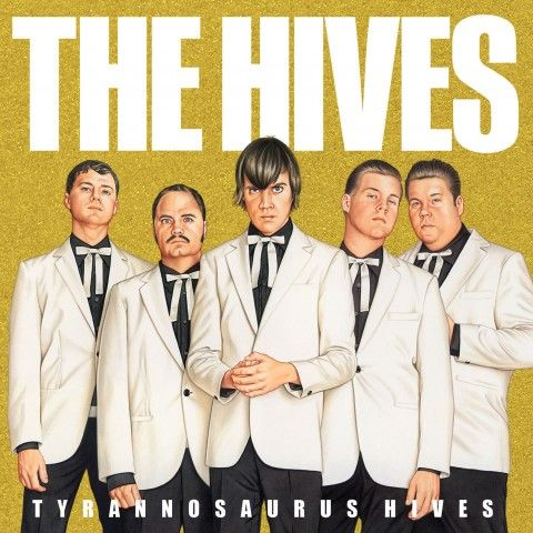 Mikael Eriksson  The Hives, Tyrannosaurus Hives CD cover, poster