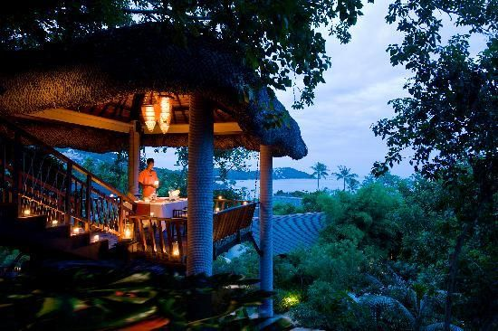 Tree Tops, dinner in the sky, chaweng thailand