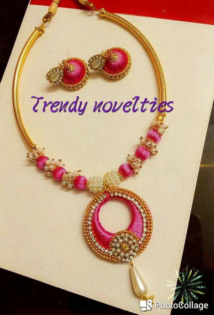 at silk watch home tutorial necklace youtube to make thread a how