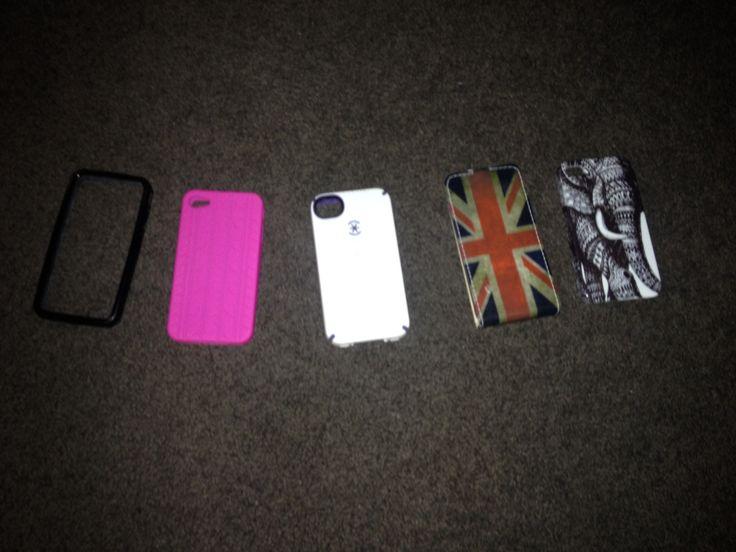 My phone cases