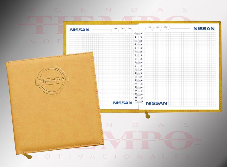Cuaderno de 100 hojas en papel bond de 90 grs., Cuadriculado, con wire´o metálico. con forro de curpiel, con listón separador. Grabado de logo en funda y en marca de agua en todas las hojas. Promoción. 100 piezas por $ 95.00 más IVA c/u Envío muy accesible a toda la Rep. Mex. 01 55 55237632 / 55367071 / 55233625