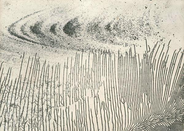 Pierre Cordier, Plage, 1958