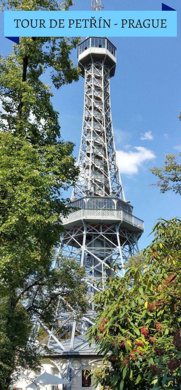 Nos astuces pour profiter de votre visite de la Tour de Petřín à Prague. Quand la visiter ? Comment y accéder ? On vous dit tout ! #Prague #Petřín #TourdePetřín #Tchéquie #RépubliqueTchèque #Visite