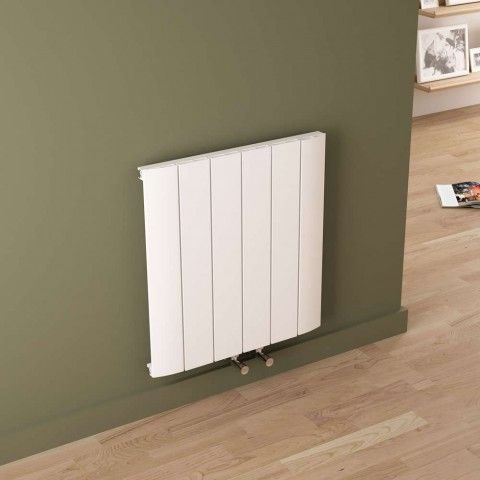 The Milano Skye - Lightweight aluminium designer radiator that offers something a little different than a standard convector radiator. http://www.bestheating.com/milano-skye-aluminium-white-horizontal-designer-radiator-600mm-x-565mm.html