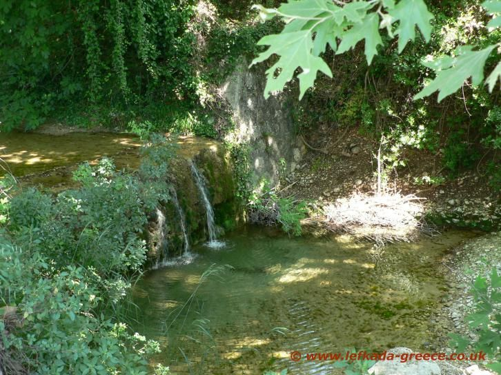 Image result for rachi waterfall lefkada